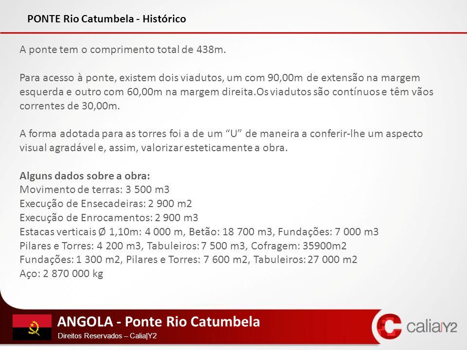 PONTE Rio Catumbela - Histórico