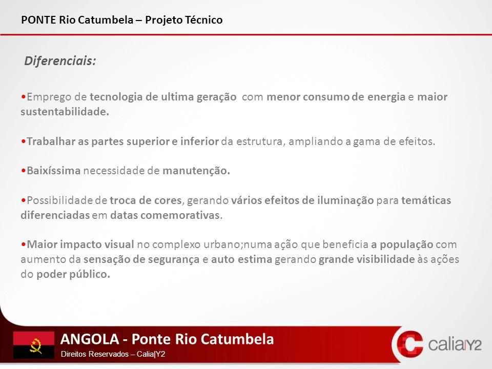 Diferenciais: PONTE Rio Catumbela – Projeto Técnico