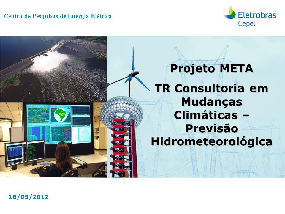 TR Consultoria em Mudanças Climáticas – Previsão Hidrometeorológica