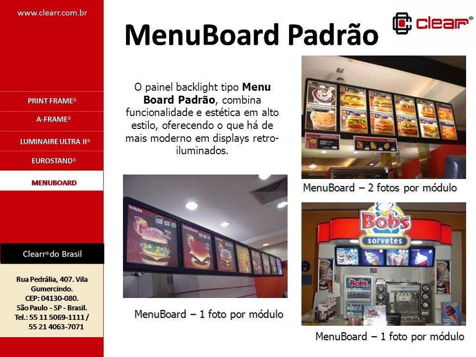 MenuBoard – 2 fotos por módulo