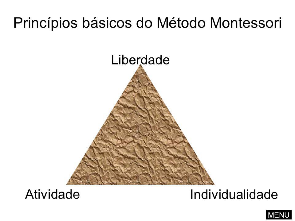 Princípios básicos do Método Montessori