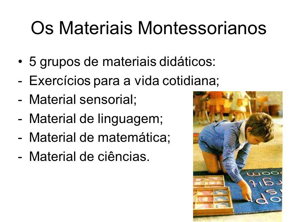 Os Materiais Montessorianos