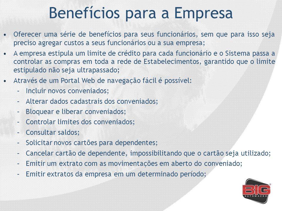 Benefícios para a Empresa