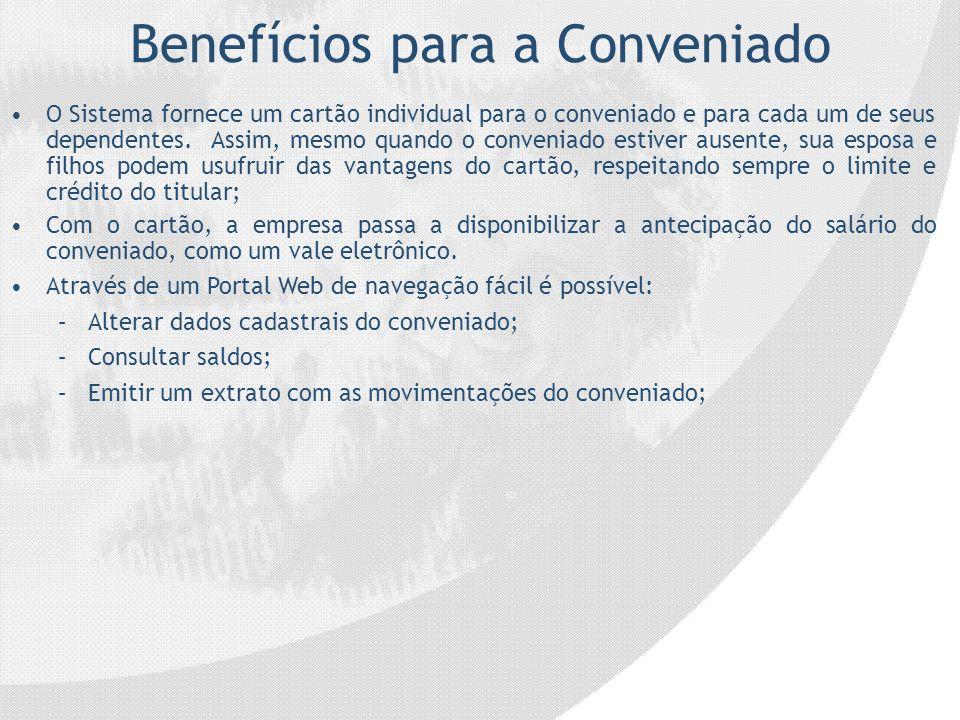 Benefícios para a Conveniado