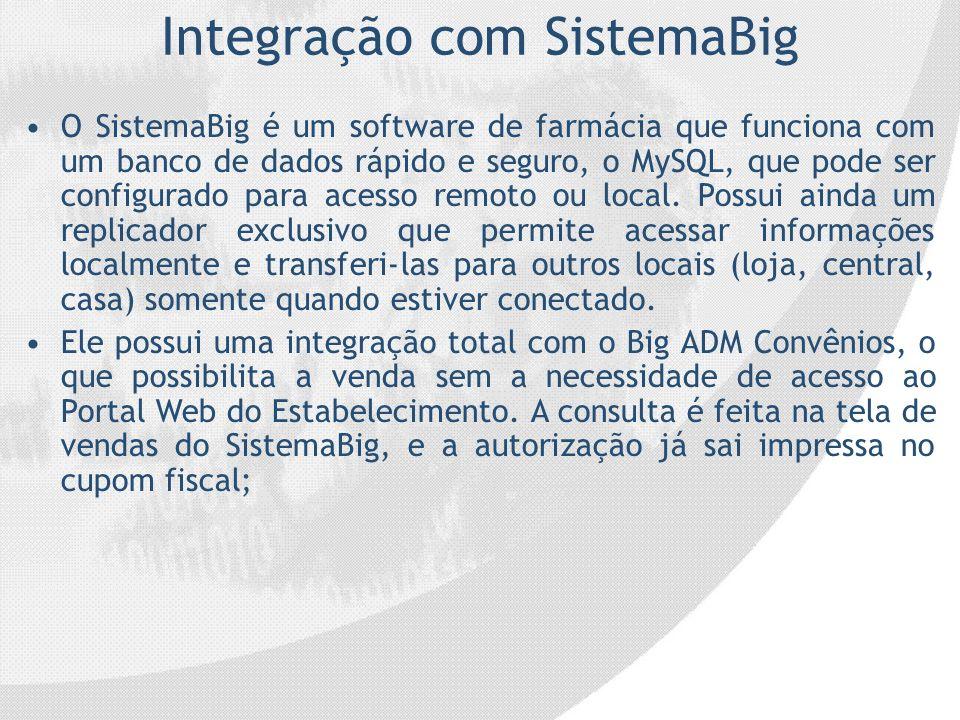 Integração com SistemaBig