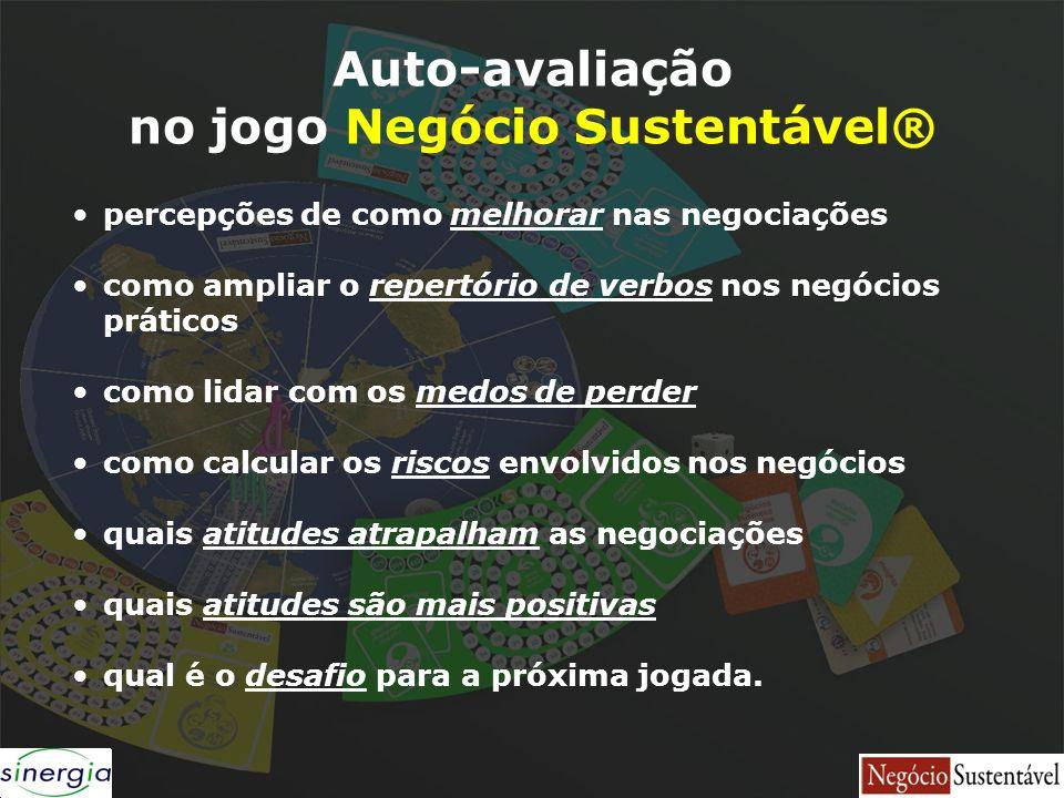no jogo Negócio Sustentável®