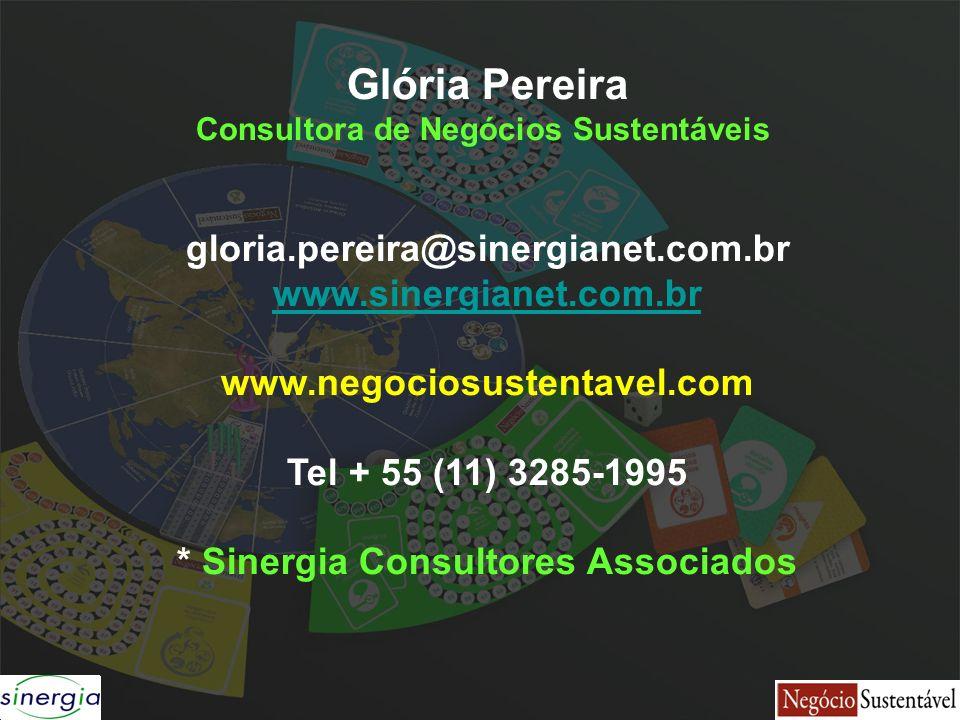 Consultora de Negócios Sustentáveis * Sinergia Consultores Associados