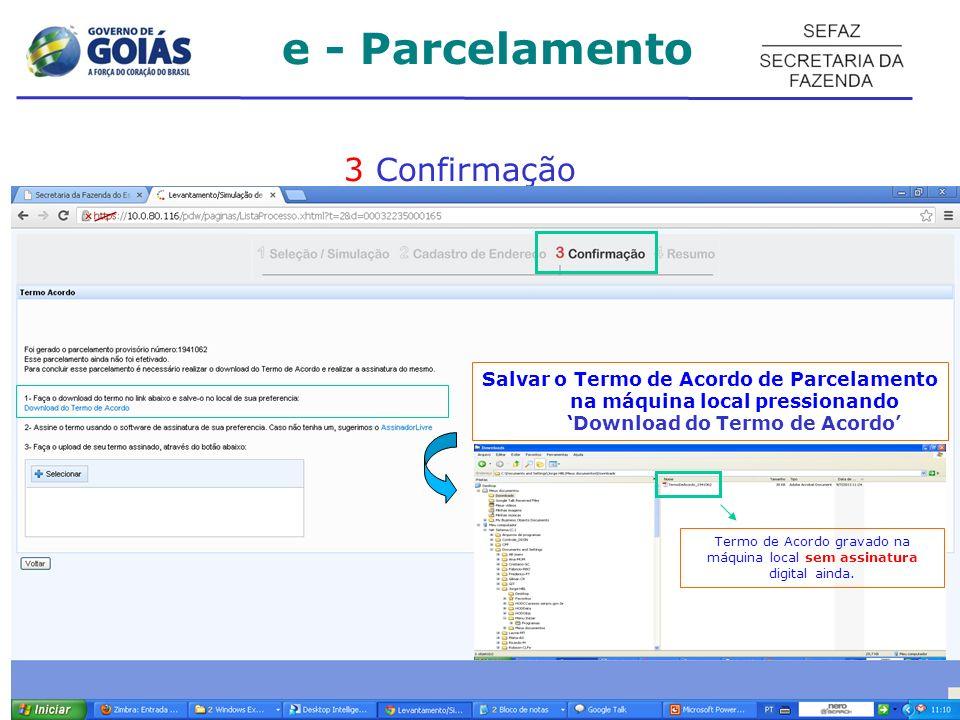 Termo de Acordo gravado na máquina local sem assinatura digital ainda.