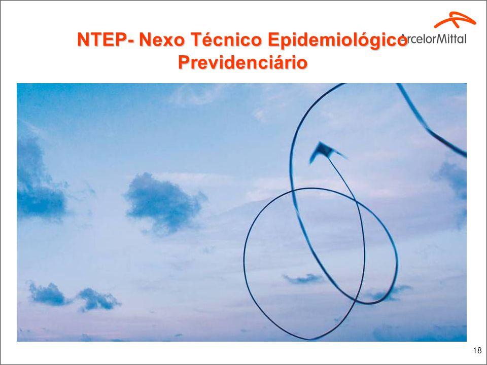 NTEP- Nexo Técnico Epidemiológico Previdenciário .