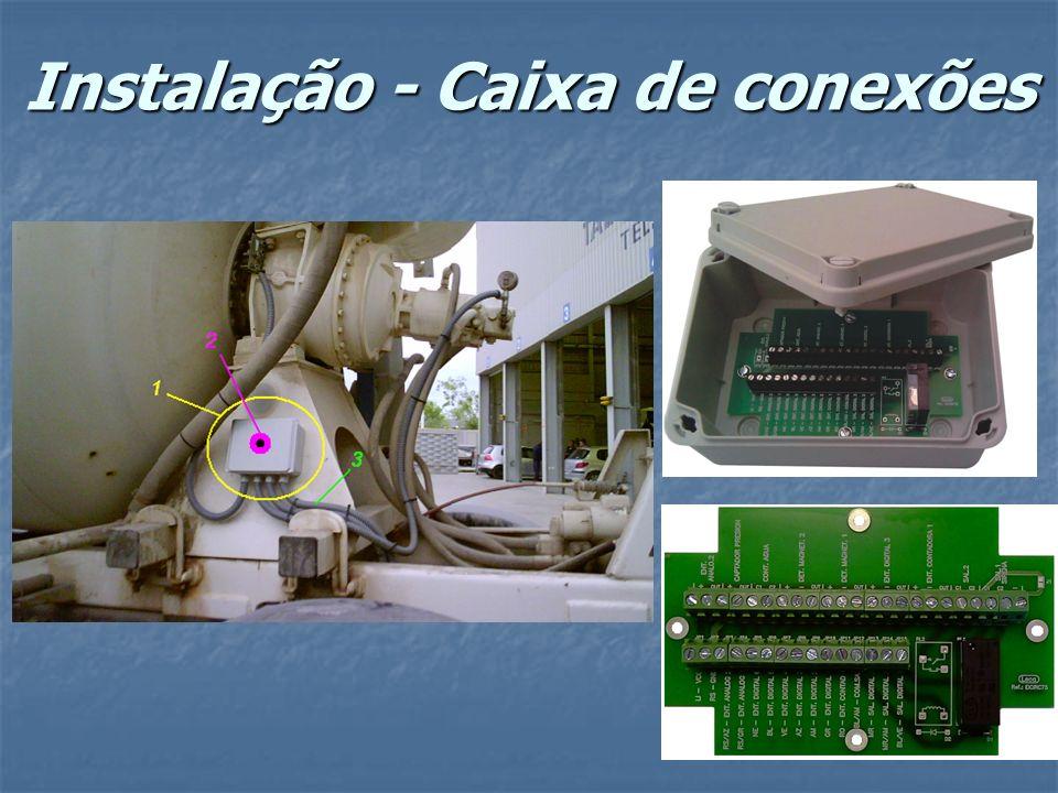 Instalação - Caixa de conexões