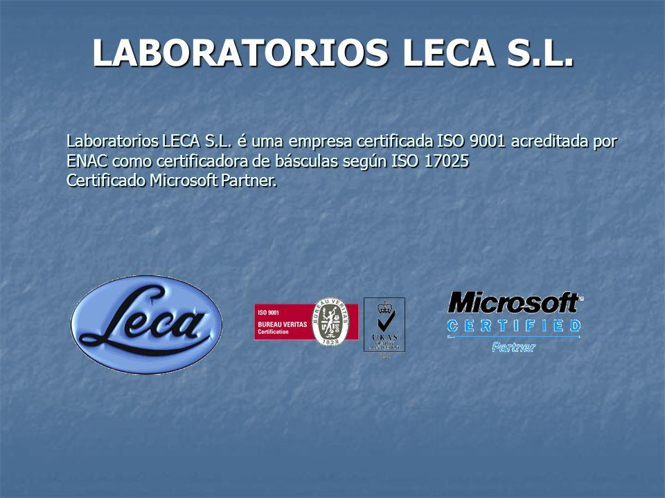 LABORATORIOS LECA S.L.