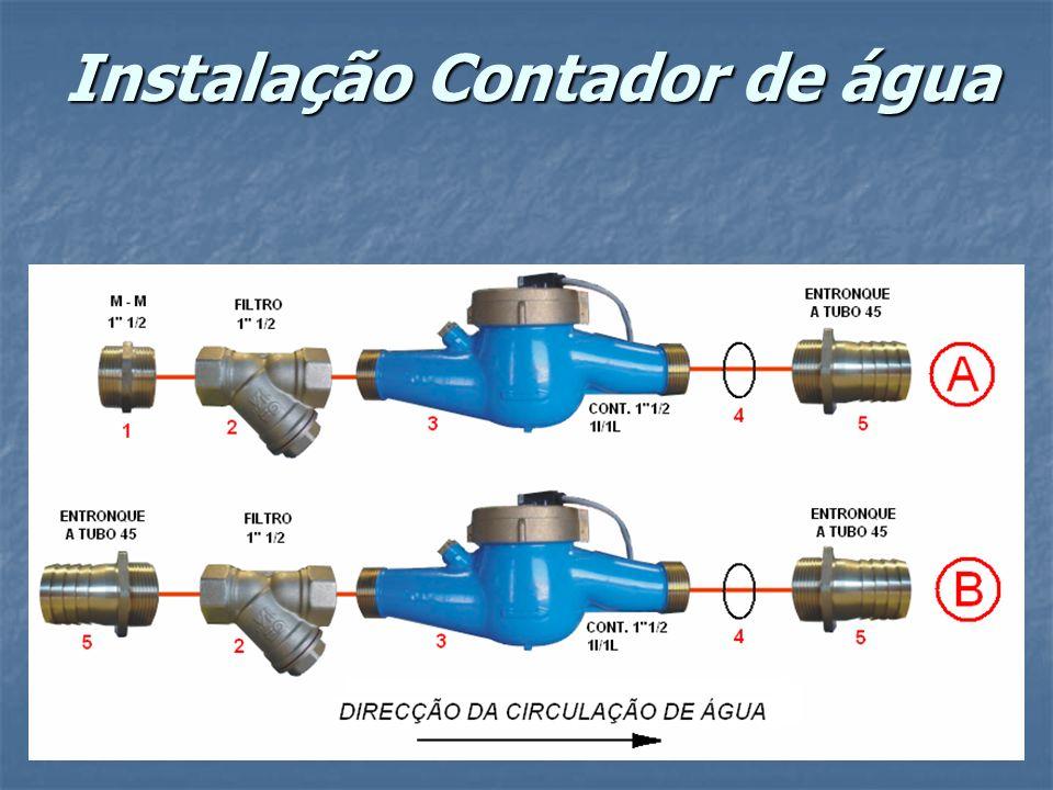 Instalação Contador de água
