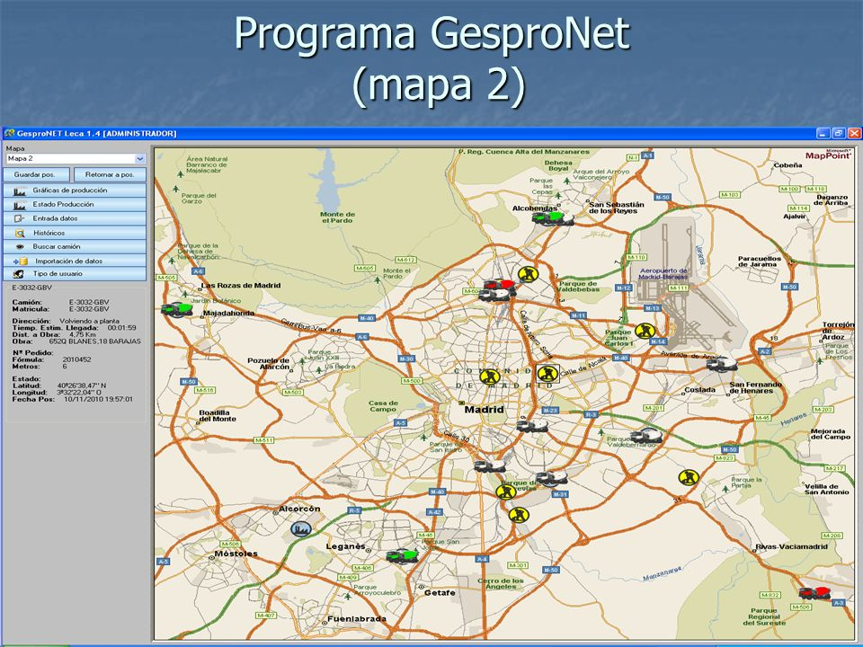 Programa GesproNet (mapa 2)