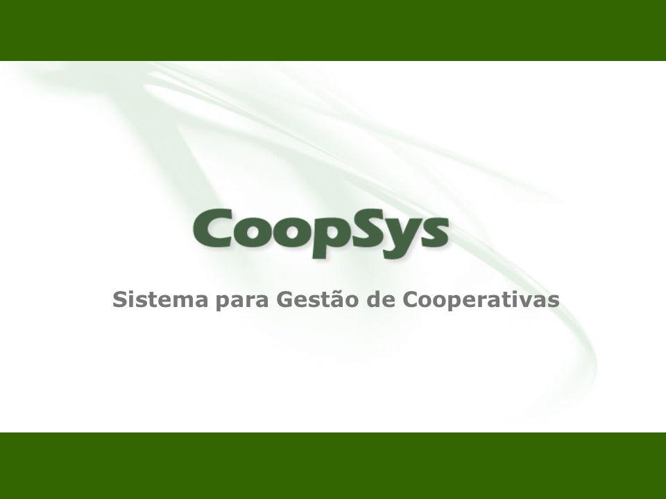 Sistema para Gestão de Cooperativas