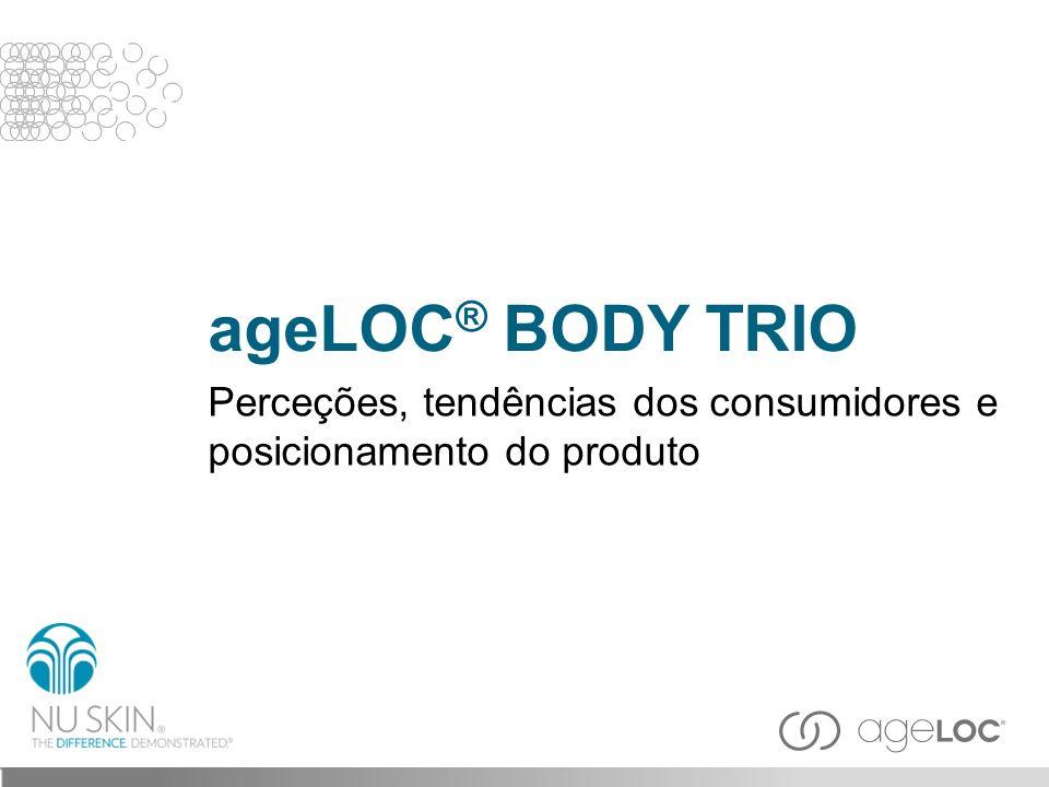 ageLOC® BODY TRIO Perceções, tendências dos consumidores e posicionamento do produto Slide inicial