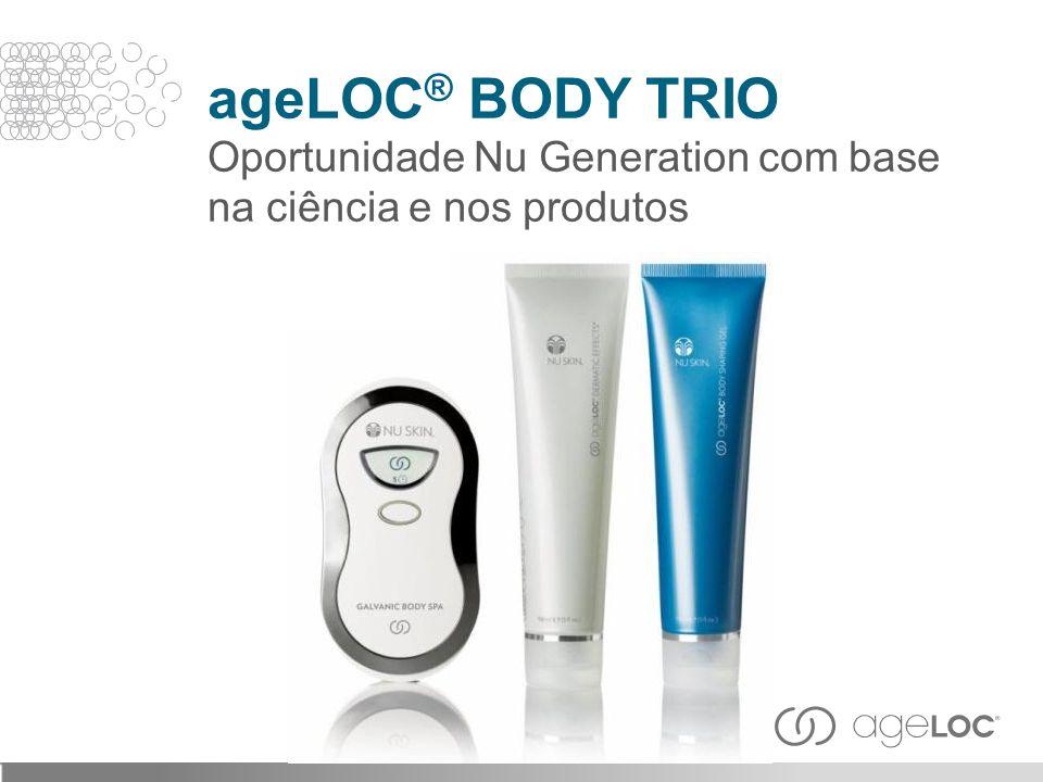 ageLOC® BODY TRIO Oportunidade Nu Generation com base na ciência e nos produtos