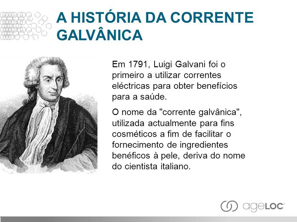 A HISTÓRIA DA CORRENTE GALVÂNICA