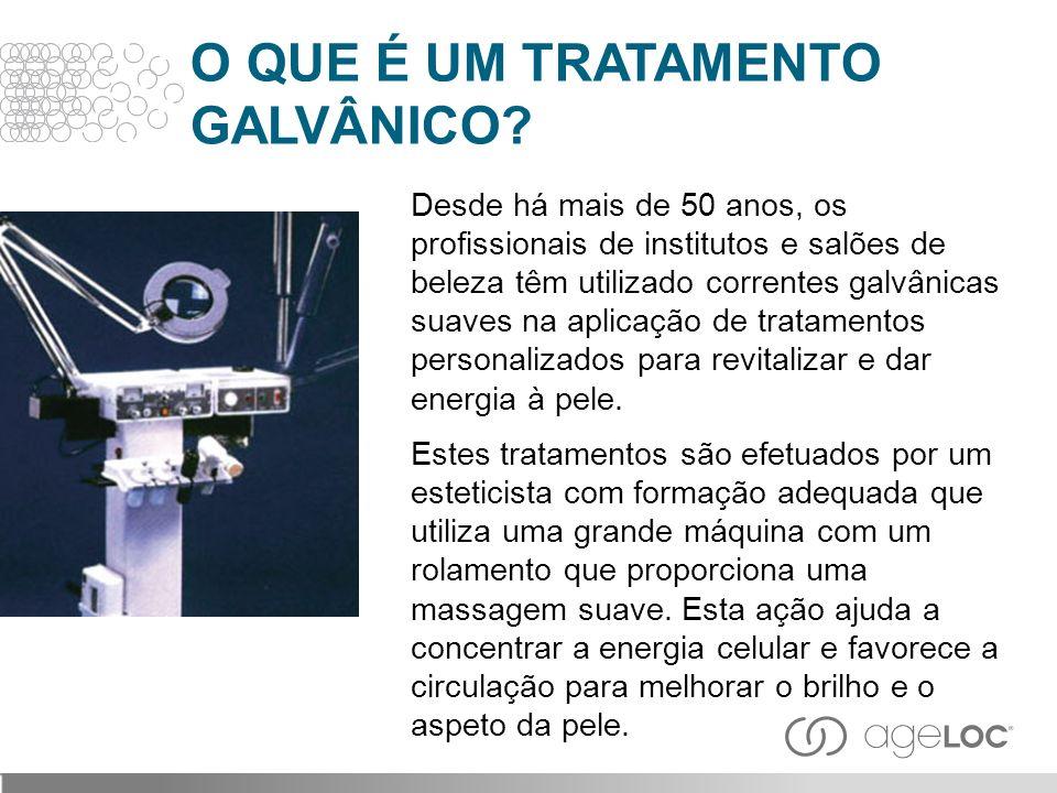 O QUE É UM TRATAMENTO GALVÂNICO