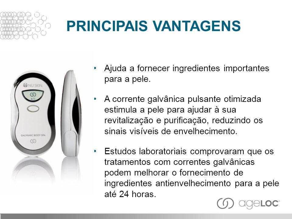 PRINCIPAIS VANTAGENS Ajuda a fornecer ingredientes importantes para a pele.