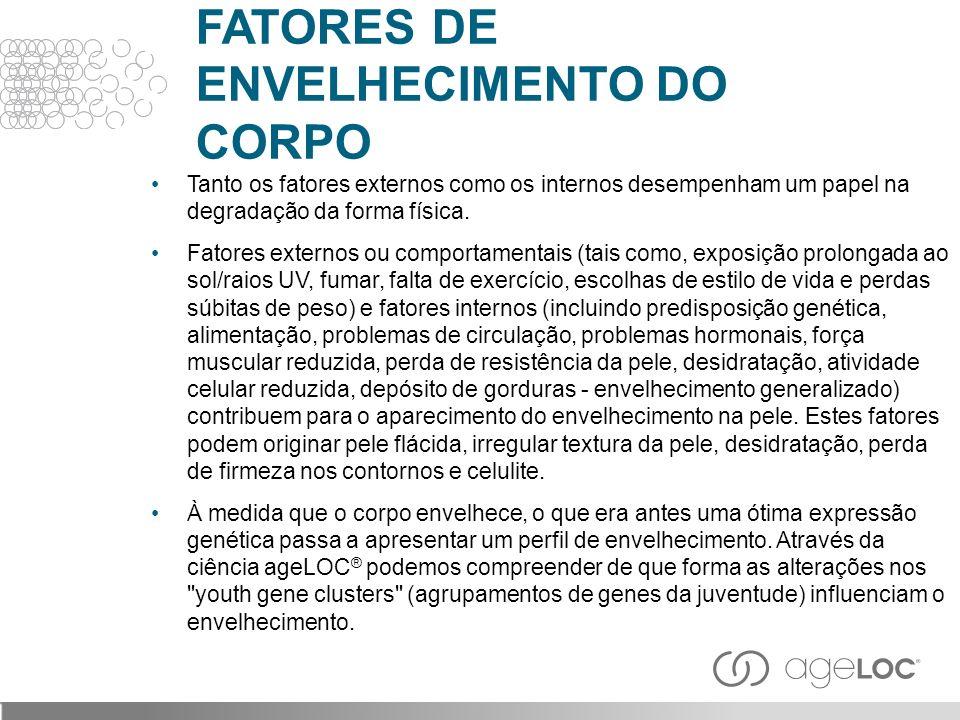 FATORES DE ENVELHECIMENTO DO CORPO