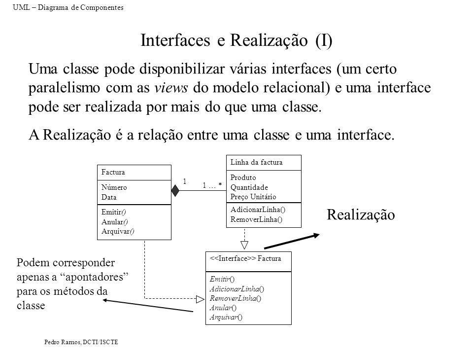 Interfaces e Realização (I)