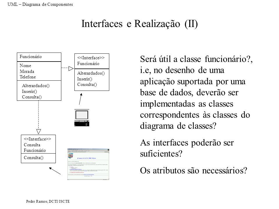Interfaces e Realização (II)