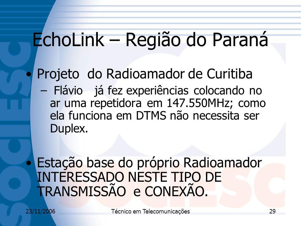 EchoLink – Região do Paraná