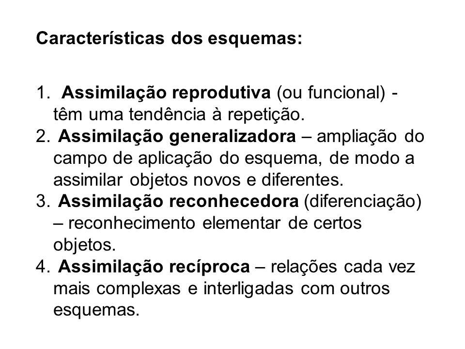 Características dos esquemas: