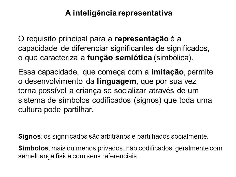A inteligência representativa