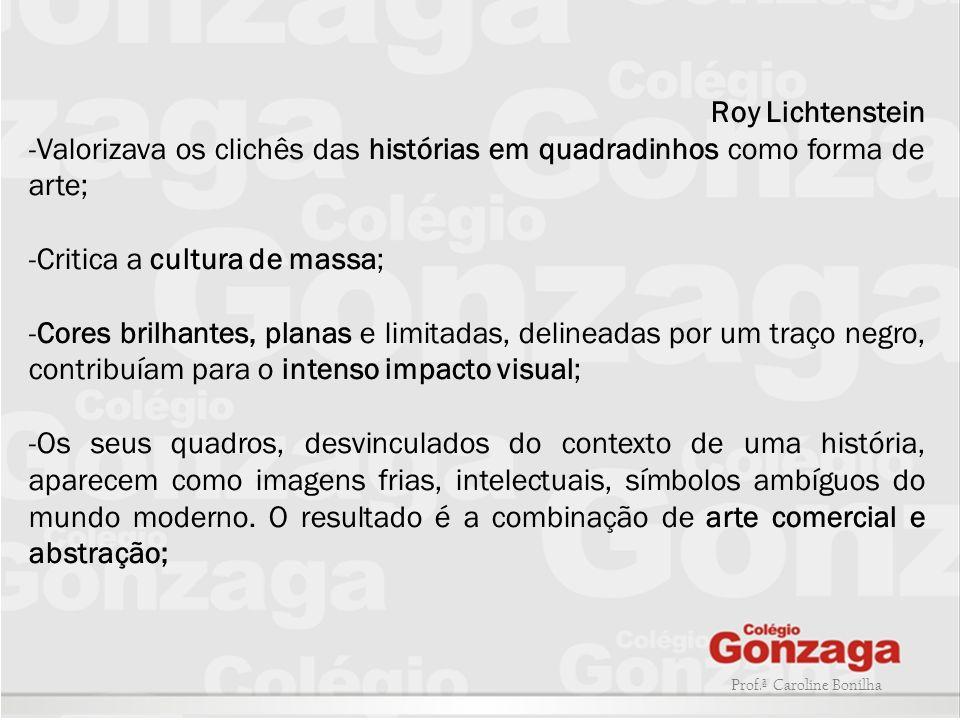 Critica a cultura de massa;