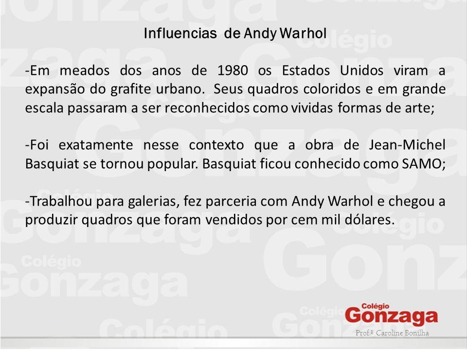 Influencias de Andy Warhol