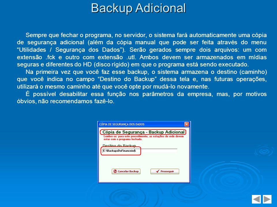 Backup Adicional
