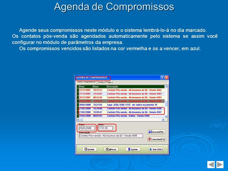 Agenda de Compromissos
