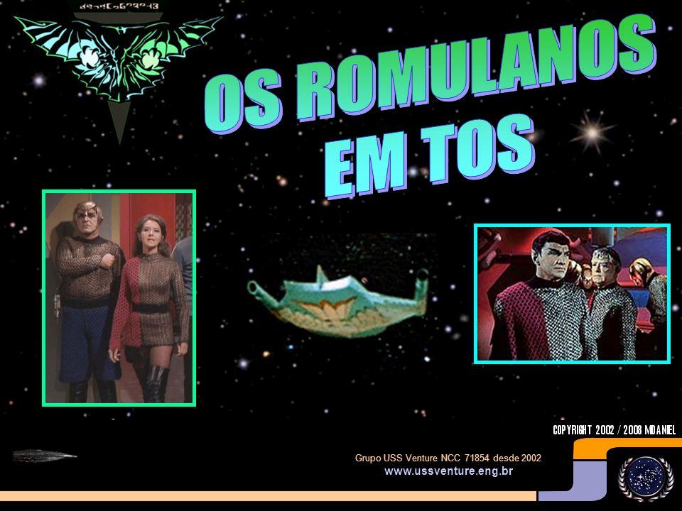 OS ROMULANOS EM TOS