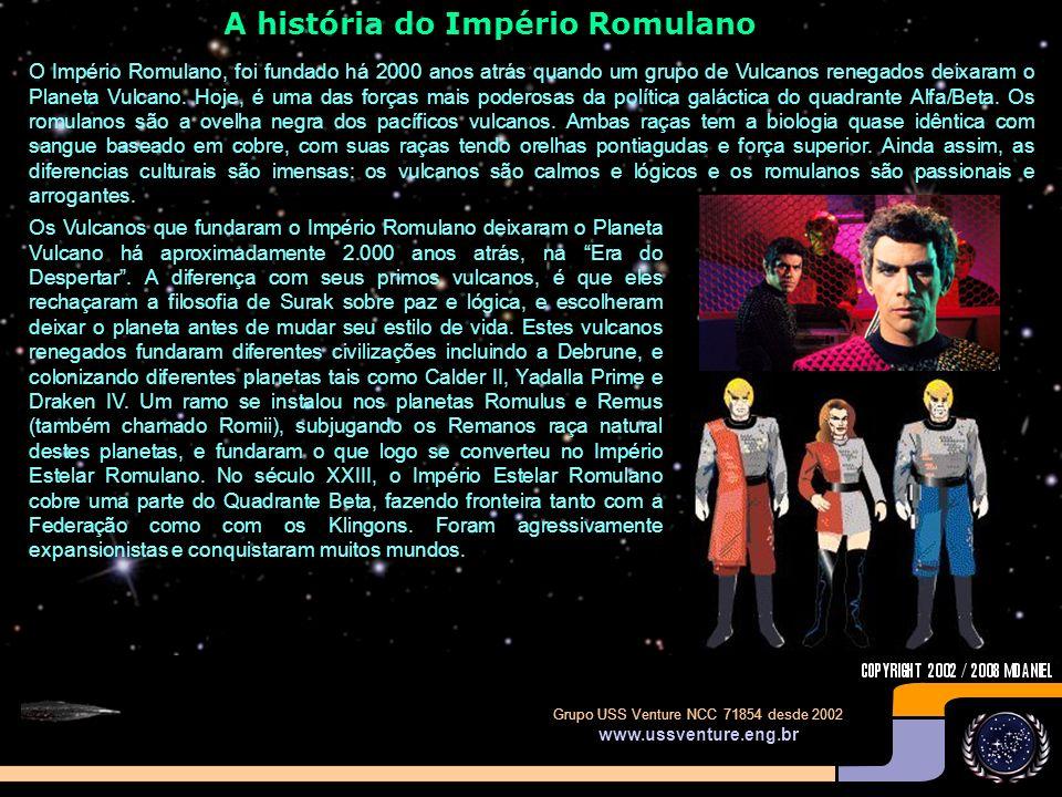 A história do Império Romulano