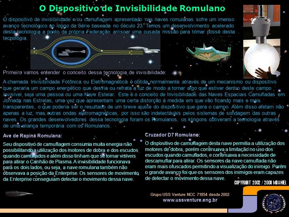 O Dispositivo de Invisibilidade Romulano