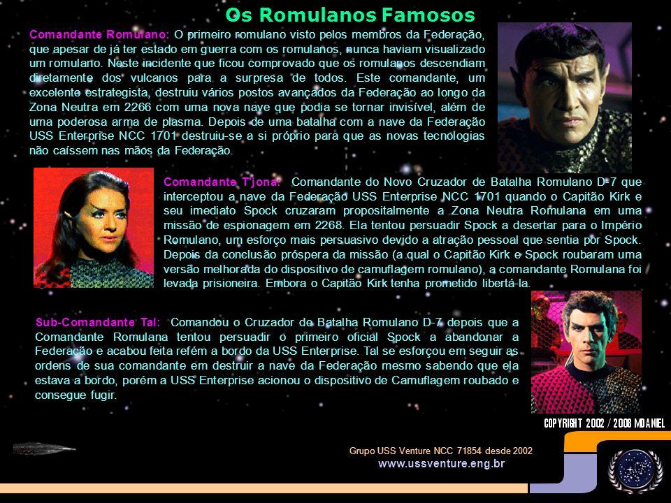 Os Romulanos Famosos