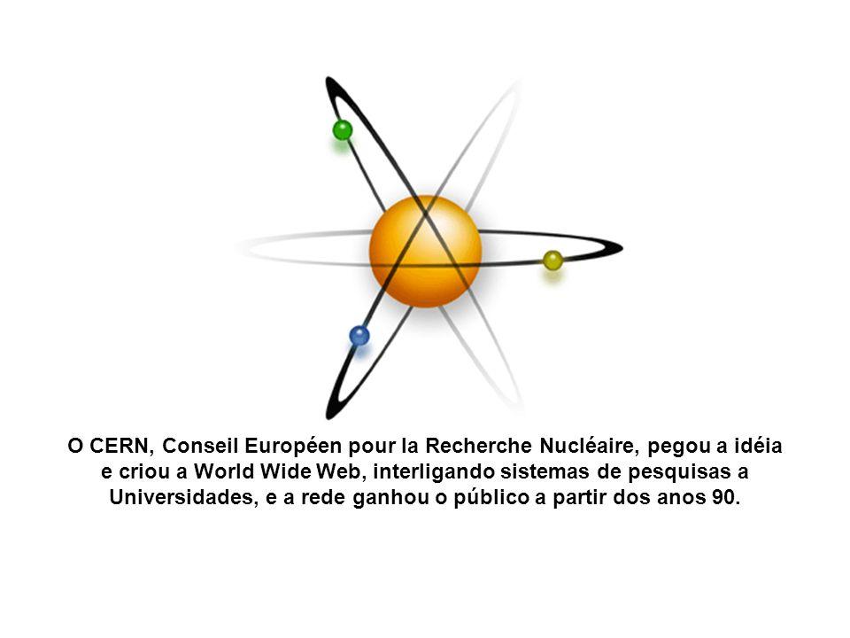 O CERN, Conseil Européen pour la Recherche Nucléaire, pegou a idéia