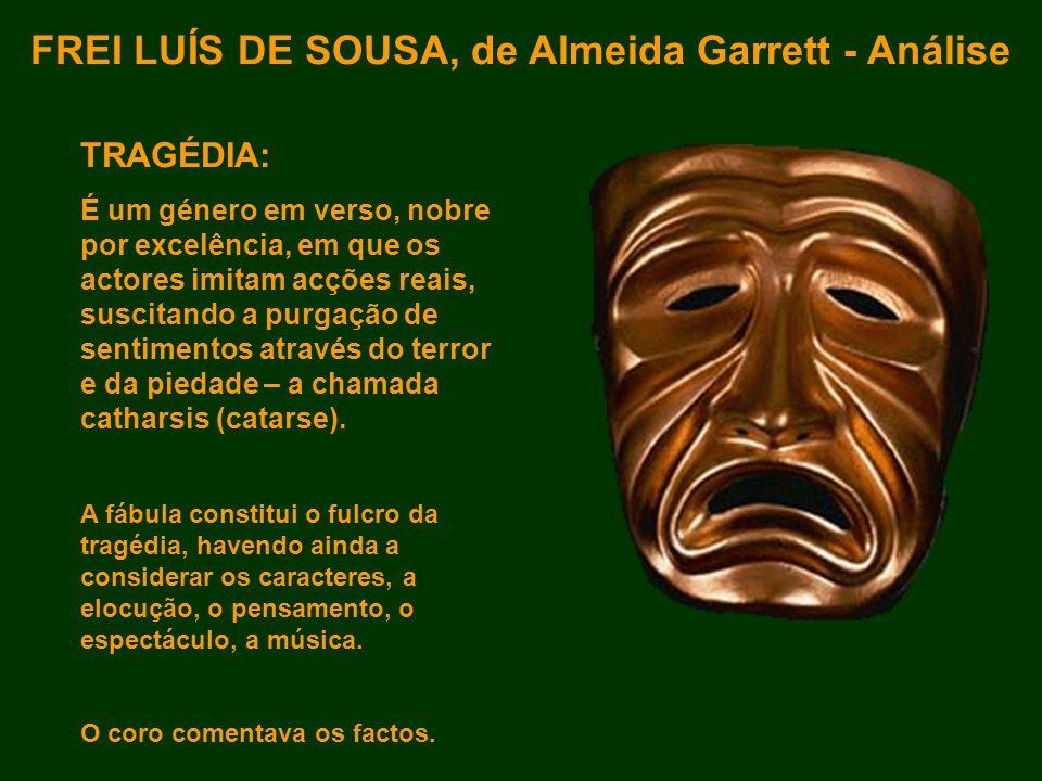 FREI LUÍS DE SOUSA, de Almeida Garrett - Análise