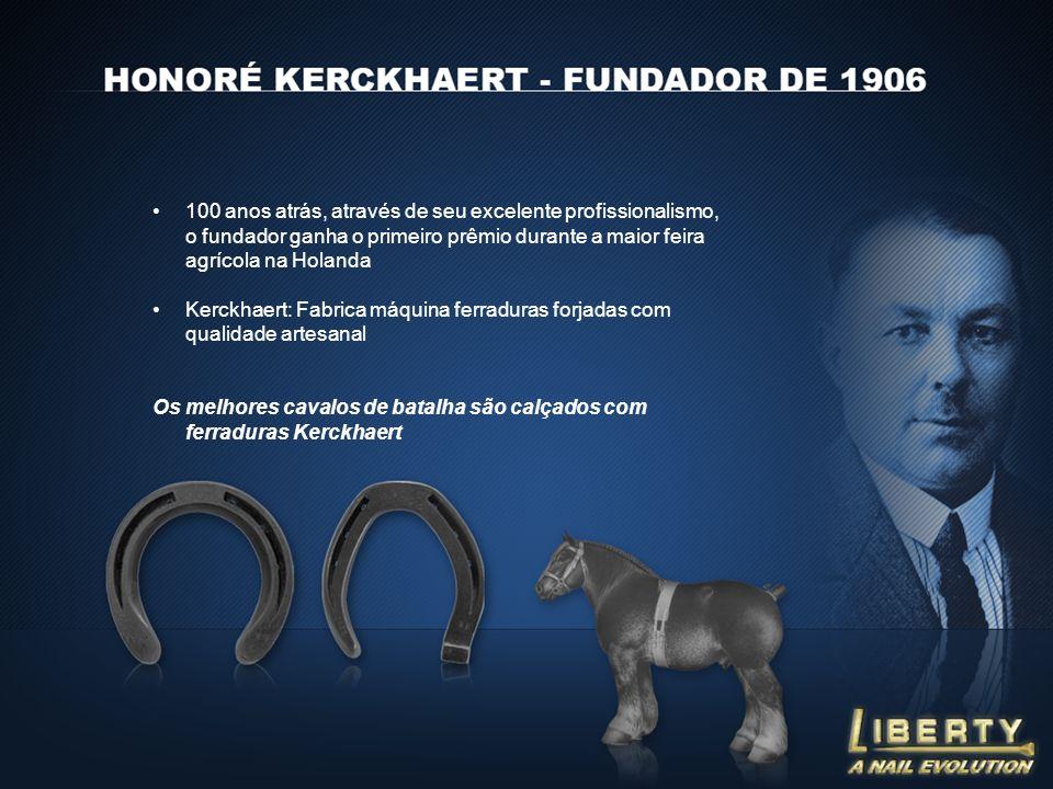 100 anos atrás, através de seu excelente profissionalismo, o fundador ganha o primeiro prêmio durante a maior feira agrícola na Holanda