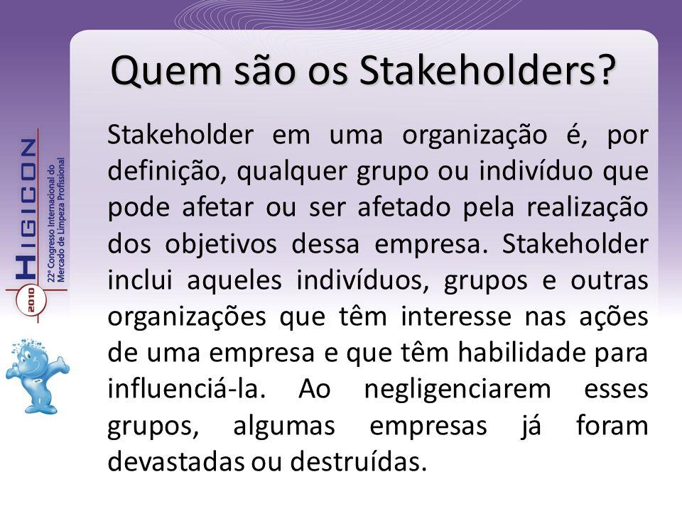 Quem são os Stakeholders