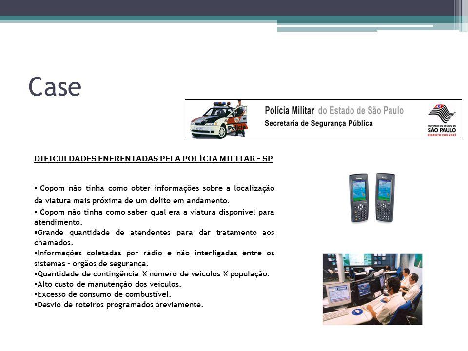 Case DIFICULDADES ENFRENTADAS PELA POLÍCIA MILITAR - SP.