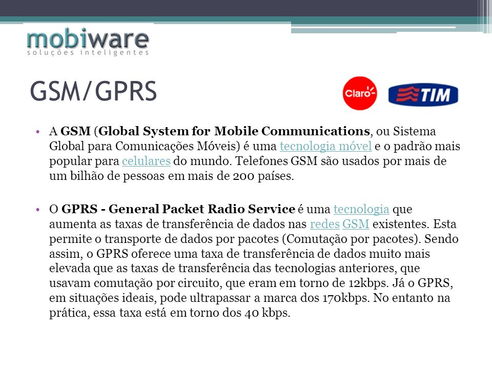 GSM/GPRS