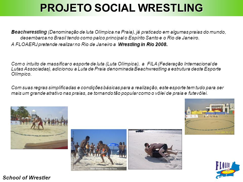 PROJETO SOCIAL WRESTLING