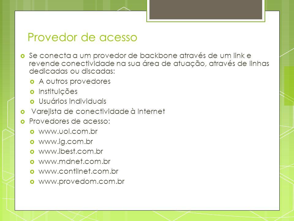 Provedor de acesso