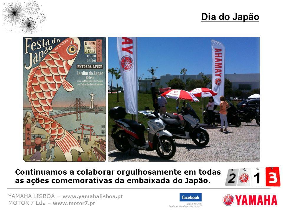 Dia do Japão Continuamos a colaborar orgulhosamente em todas as ações comemorativas da embaixada do Japão.