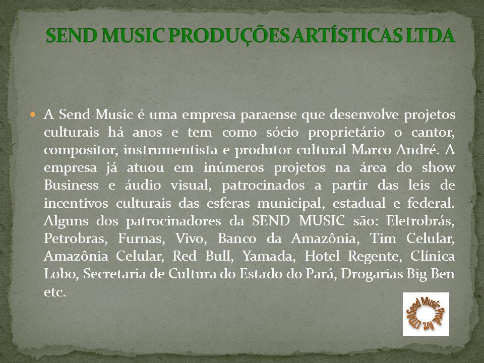 SEND MUSIC PRODUÇÕES ARTÍSTICAS LTDA