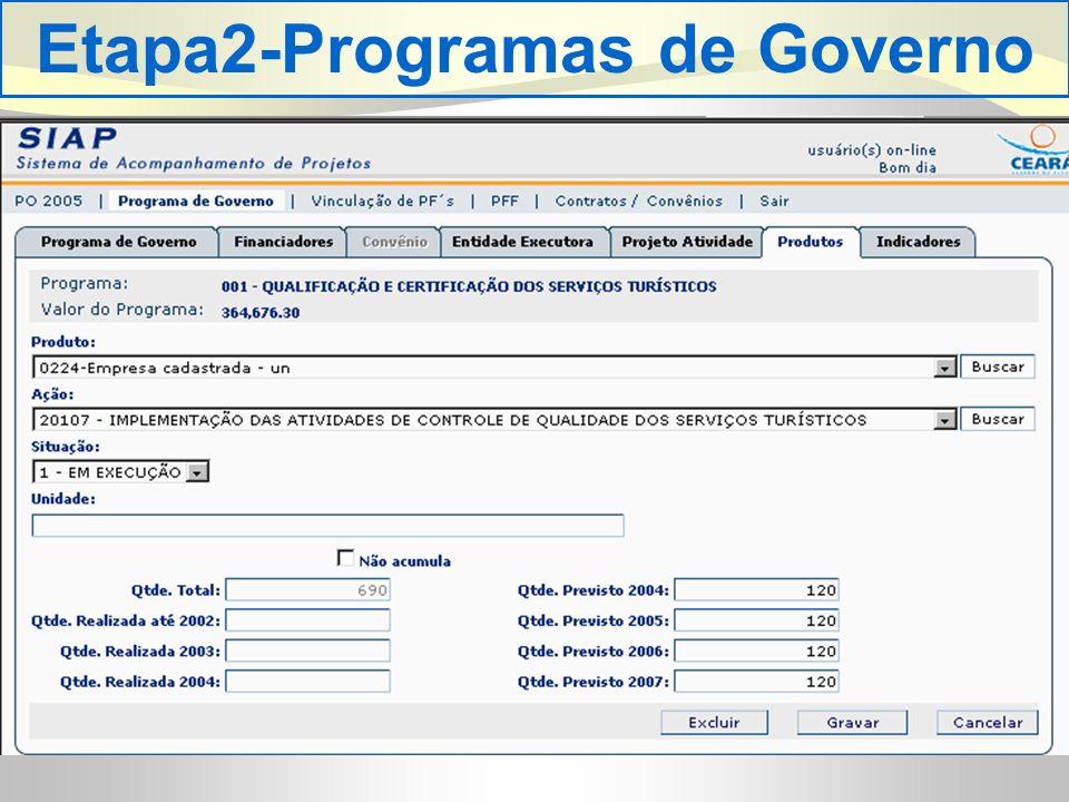 Etapa2-Programas de Governo