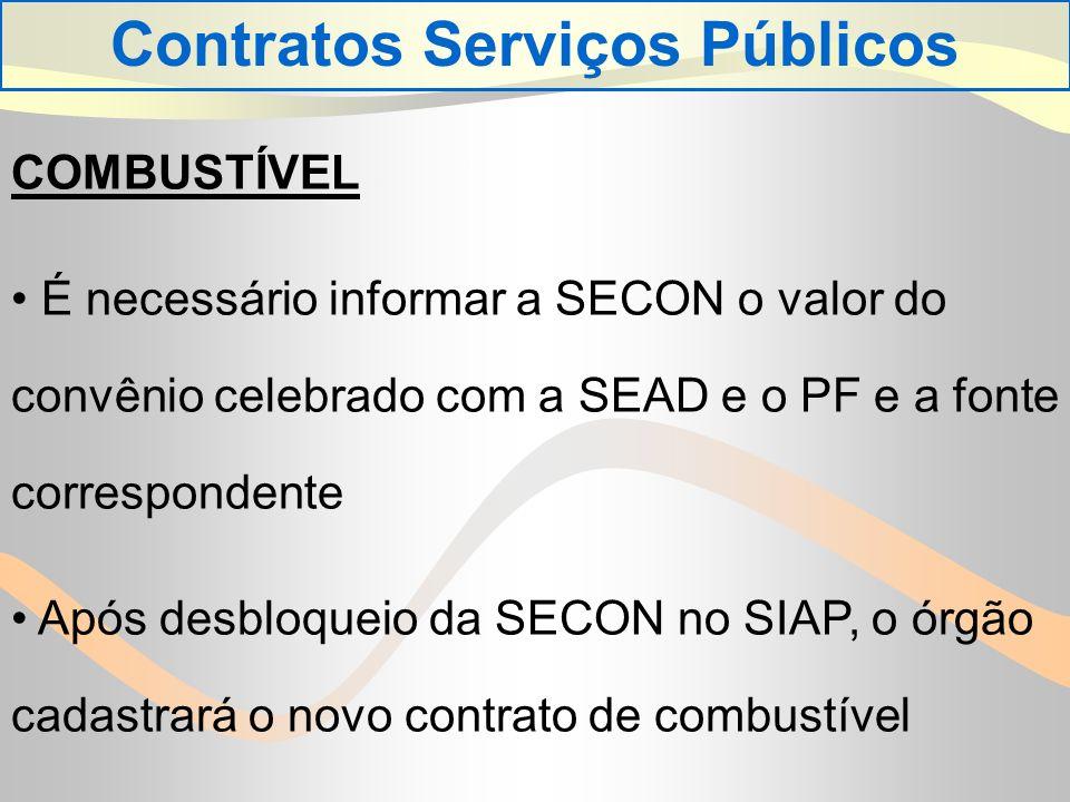 Contratos Serviços Públicos