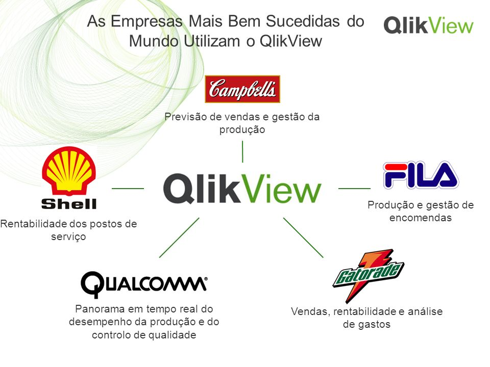 As Empresas Mais Bem Sucedidas do Mundo Utilizam o QlikView
